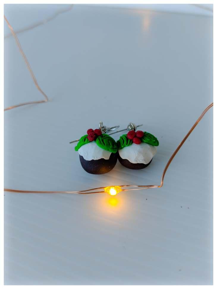 Pudding earrings